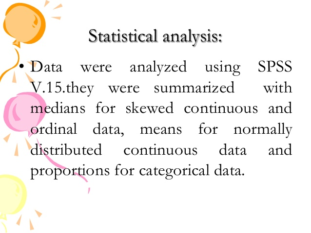Statistical analysis for research  Homework Help Sites